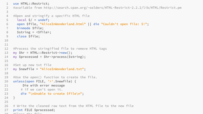Perl開発